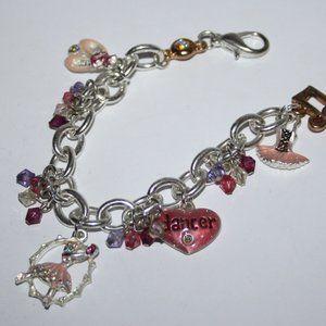 """6.5"""" ballerina dancer charm bracelet"""